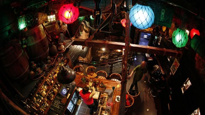 Smuggler's Cove tiki bar, in San Francisco