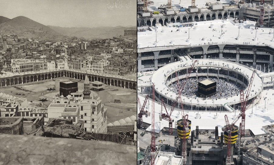 Mecca Then And Now 126 Years Of Growth The Atlantic