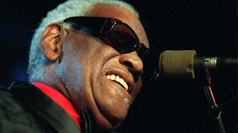 Ray Charles in 1997
