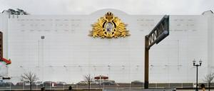 The facade of a casino in Atlantic City.