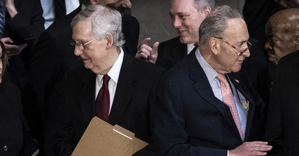 Trump S Impeachment Is Controlled By Mcconnell Schumer The Atlantic