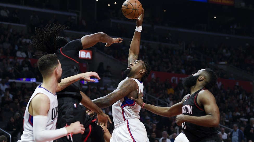 DeAndre Jordan, an all-star center for the Los Angeles Clippers, reportedly wore a biometric tracker under the sweatband on his wrist for part of the 2016-2017 NBA season.