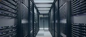 IBM data servers in Armonk, NY