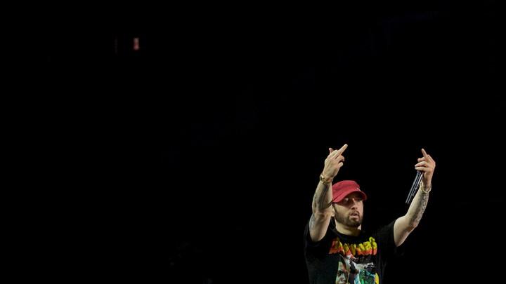 Eminem in 2018