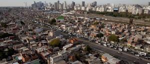 Villa 31, an informal settlement in Buenos Aires
