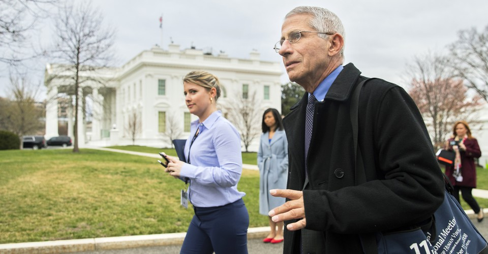 Anthony Fauci's Plan to Stay Honest