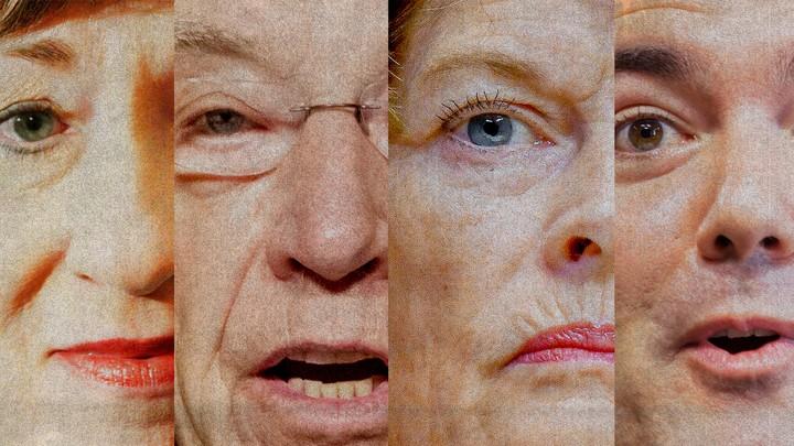 Senators Susan Collins, Chuck Grassley, Lisa Murkowski, and Cory Gardner