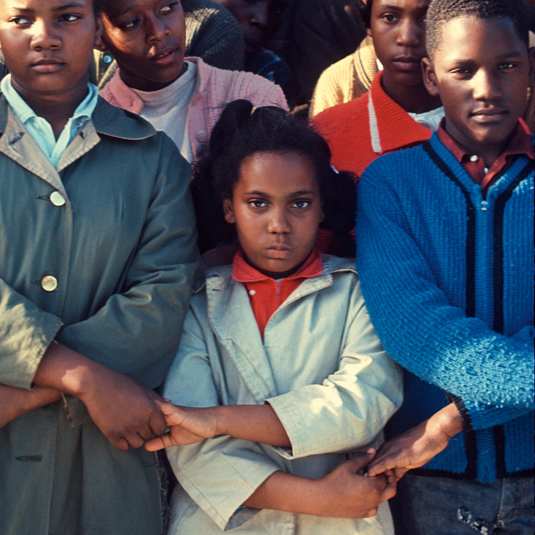 1965 color photo of young people protesting voting rights