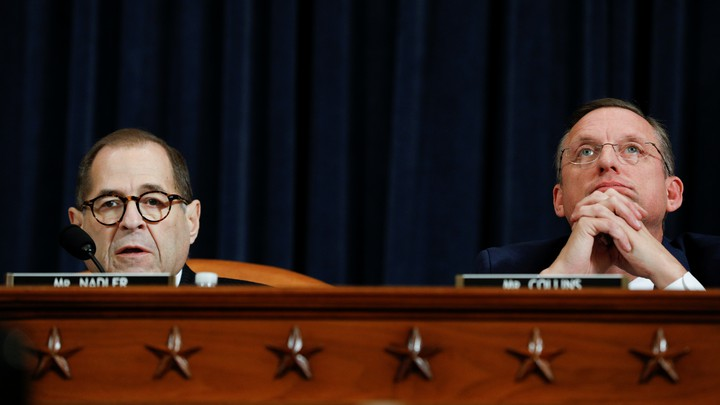 The House Judiciary Committee holds a hearing on the Trump impeachment inquiry on Capitol Hill in Washington, D.C.