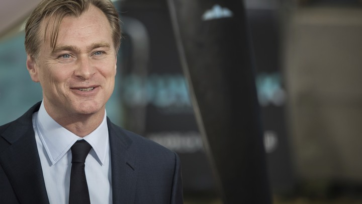 Christopher Nolan at the 'Dunkirk' premiere