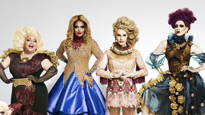 Some of the cast of 'Rupaul's Drag Race: All Stars 2'