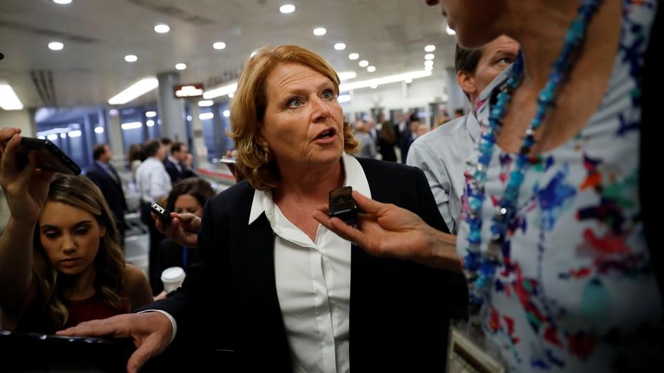 Senator Heidi Heitkamp of North Dakota