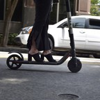 a photo of an e-scooter.