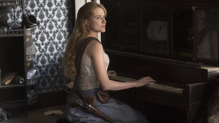 Evan Rachel Wood in 'Westworld'