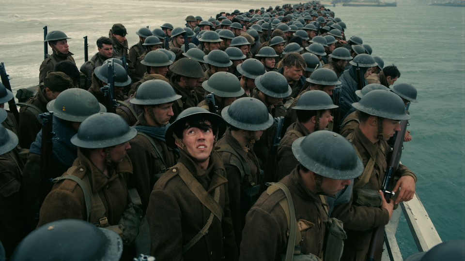 A group of soldiers in 'Dunkirk.'