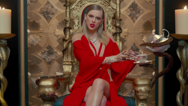 Taylor Swift in the 'Look What You Made Me Do' music video