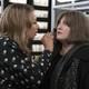 Julia (Tamara Tunie) applies makeup to Plum's (Joy Nash) face in the pilot of 'Dietland'