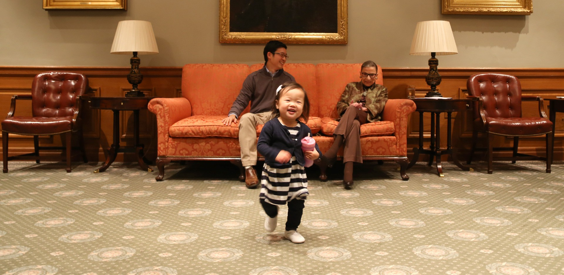 What Ruth Bader Ginsburg Taught Me About Being A Stay At Home Dad The Atlantic