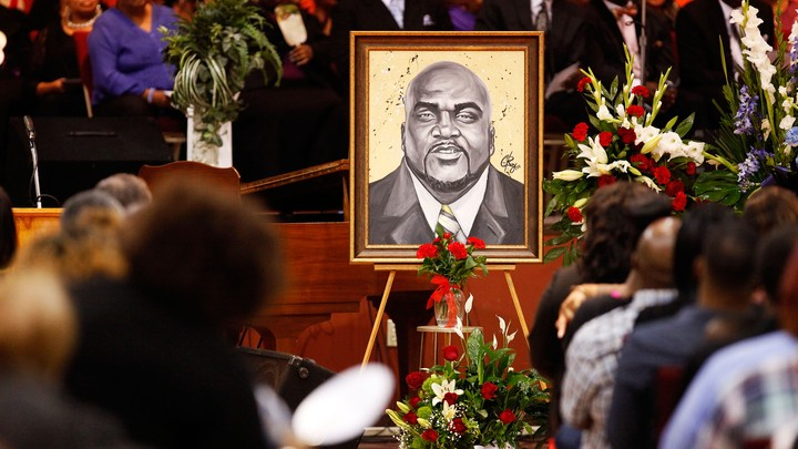 Terence Crutcher's funeral service