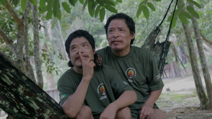Tamandua (left) and Pakyî (right), the two remaining members of the Piripkura tribe