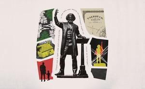 illustration of Frederick Douglass statue