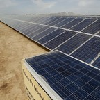 a photo of solar panels