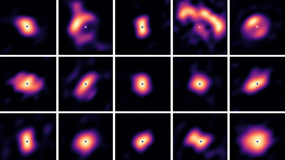 Images of protoplanetary disks