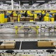 Workers at an Amazon fulfillment center in Staten Island