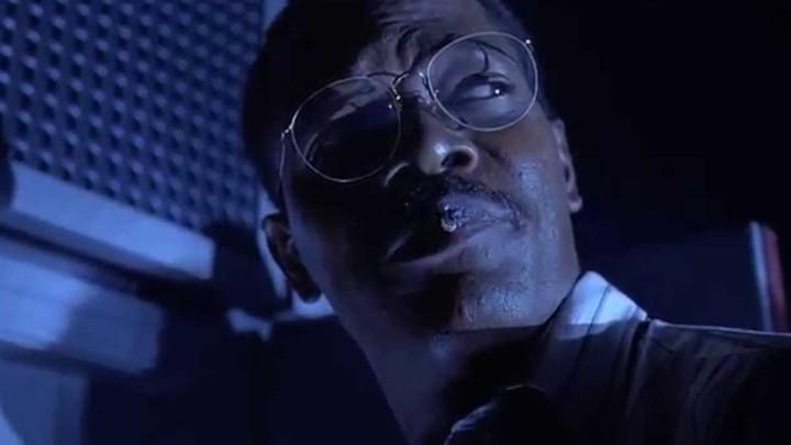 Samuel L. Jackson as Ray Arnold in 'Jurassic Park'