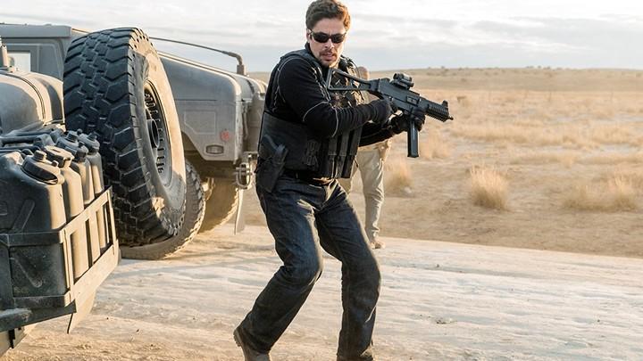 Benicio del Toro in 'Sicario: Day of the Soldado'