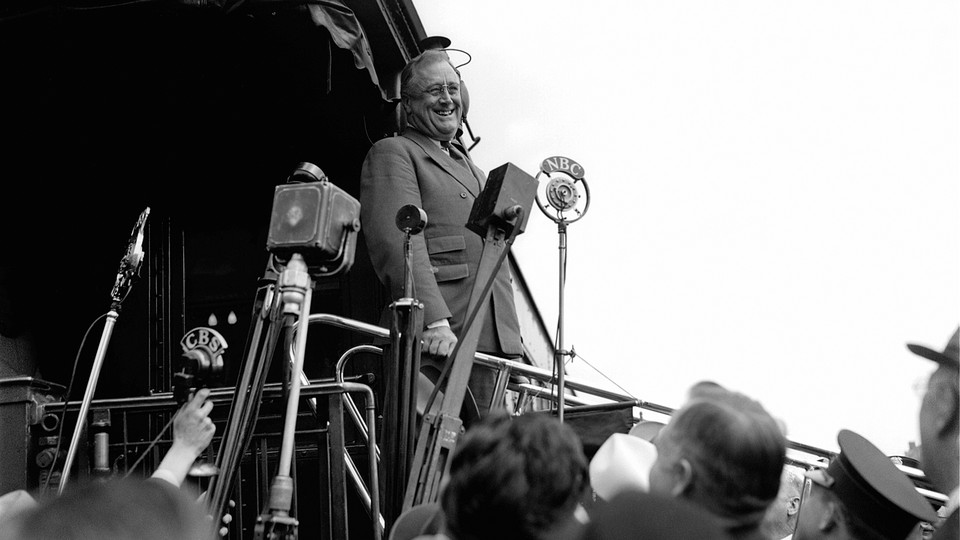 Franklin D. Roosevelt in 1934
