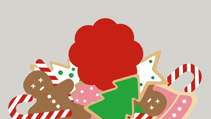 An illustration of Christmas cookies