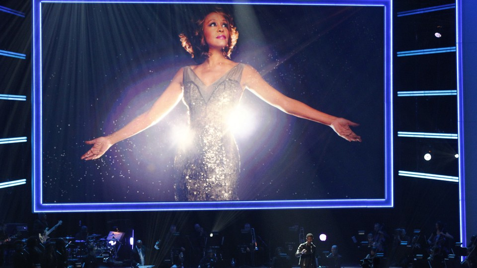 An image from 'We Will Always Love You: A Grammy Salute To Whitney Houston' in 2012