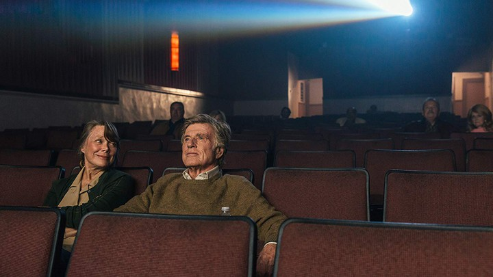 Sissy Spacek and Robert Redford in 'The Old Man & the Gun'