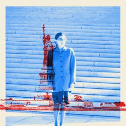 An illustration of Ruth Bader Ginsburg.