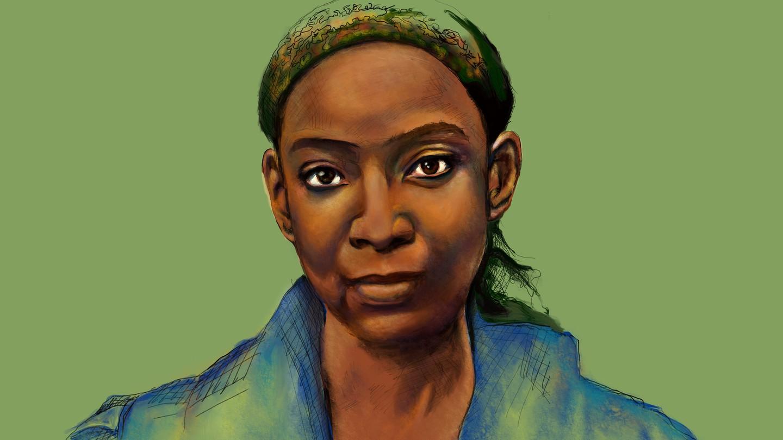 illustration of Gayl Jones