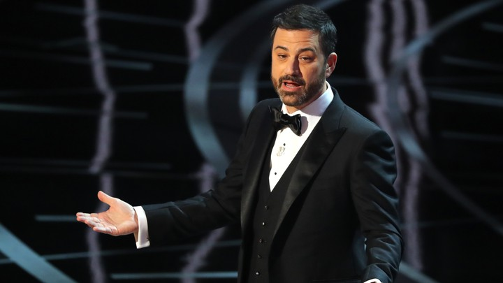 Jimmy Kimmel hosts the 89th Academy Awards show in 2017