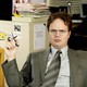 "Picture of Dwight Shrute in ""The Office"""