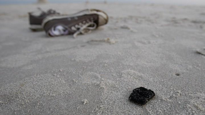 Tar Balls, the Beach's Fossil-Fuel Flowers - The Atlantic