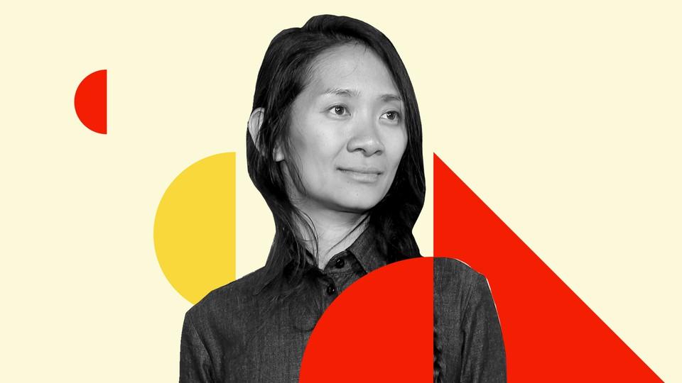 "The director of ""Nomandland,"" Chloé Zhao"