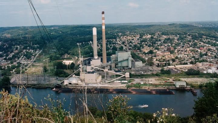 Photo of coal factory
