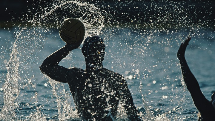 A water-polo match