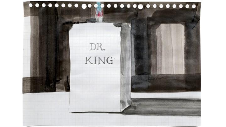 'DR KING' (2015) by Kara Walker