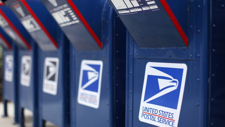 U.S. Postal Service mailboxes