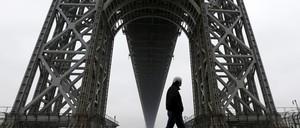 A photo of the George Washington Bridge