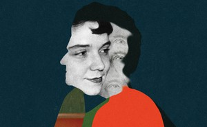 Illustration of Adrienne Rich