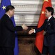 Chinese President Xi Jinping and Italian Prime Minister Giuseppe Conte meet in Rome in March to sign a memorandum of understanding supporting the Belt and Road Initiative.