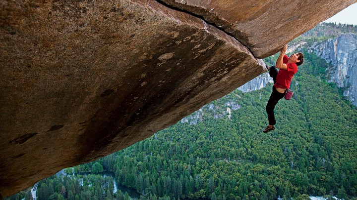Alex Honnold Describes Why He Free Solo Climbs in His New Book 'Alone on  the Wall' - The Atlantic