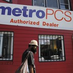 a photo of a Metro PCS store in Washington, D.C.
