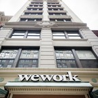 A WeWork building